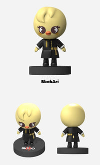 Official Stray Kids SKZOO Mini Figurine (神MENU VER.) - Kpop Omo