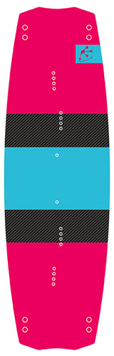 board twintip freestyle pink-turquoise