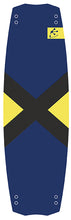 board twintip freestyle navy-yellow
