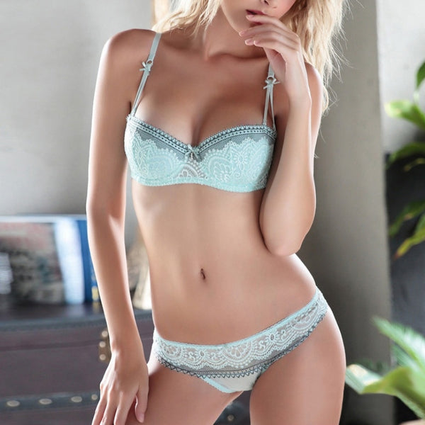 Sexy Lace Bra and Panties Set