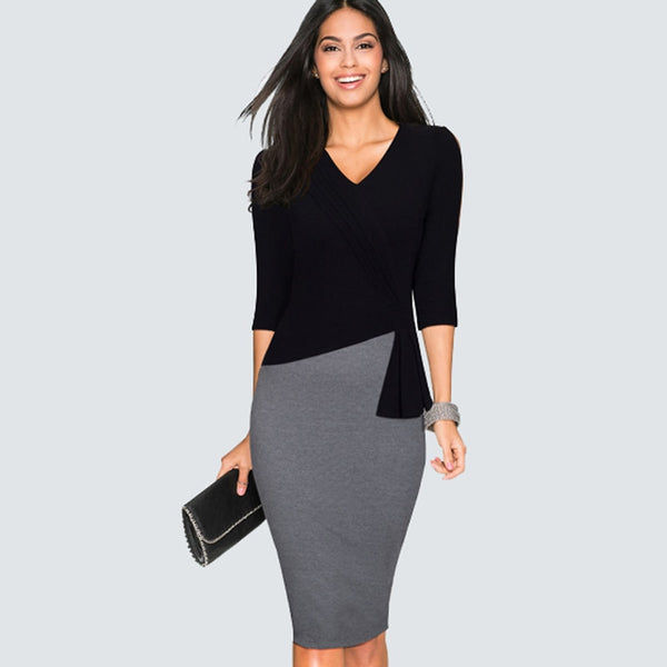 Sheath Slim Bodycon Dress