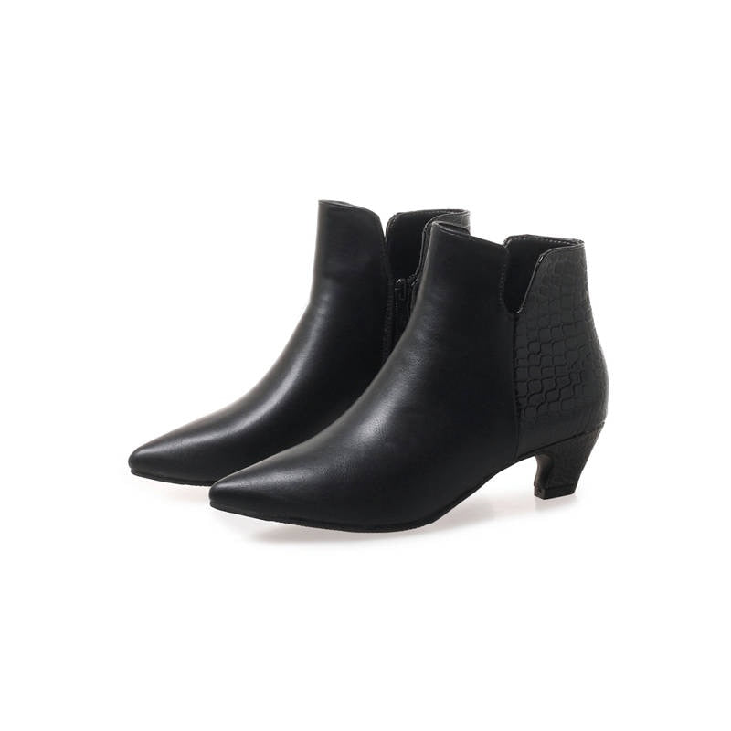Ankle Boots Pointed Toe