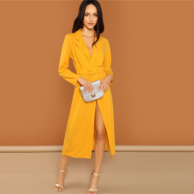 Ginger Waist Belted Wrap Dress