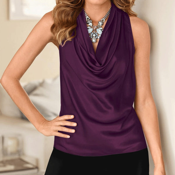 High Quality Chiffon Ruffle Blouse