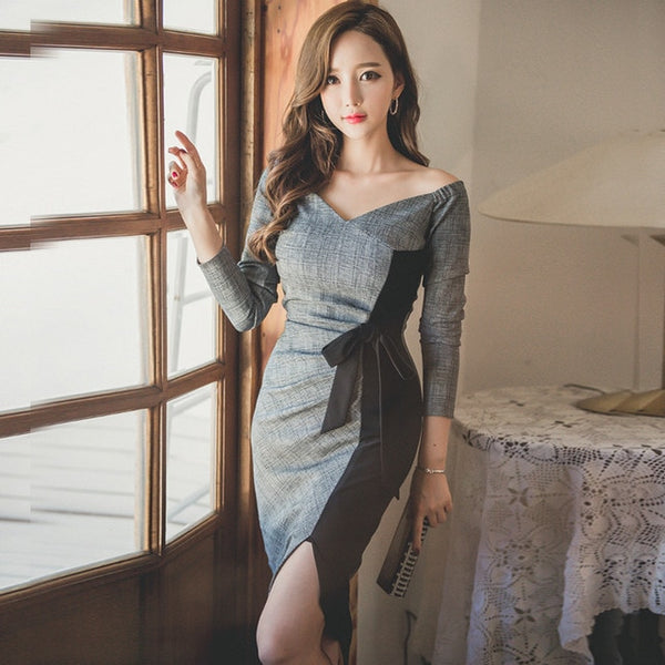 Elegant Ladies Pencil Dress