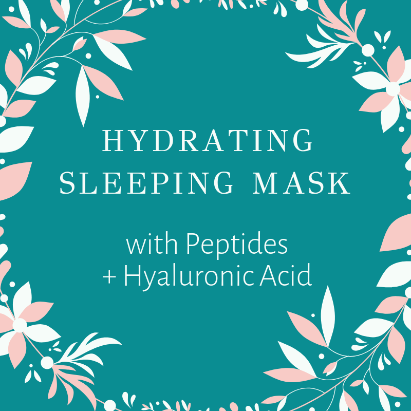 NEW! Hydrating Sleeping Mask