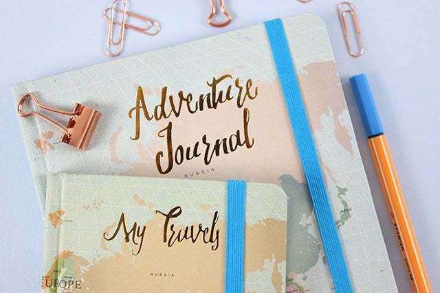 Large A5 Hardback Adventure Journal - My Happy Camper