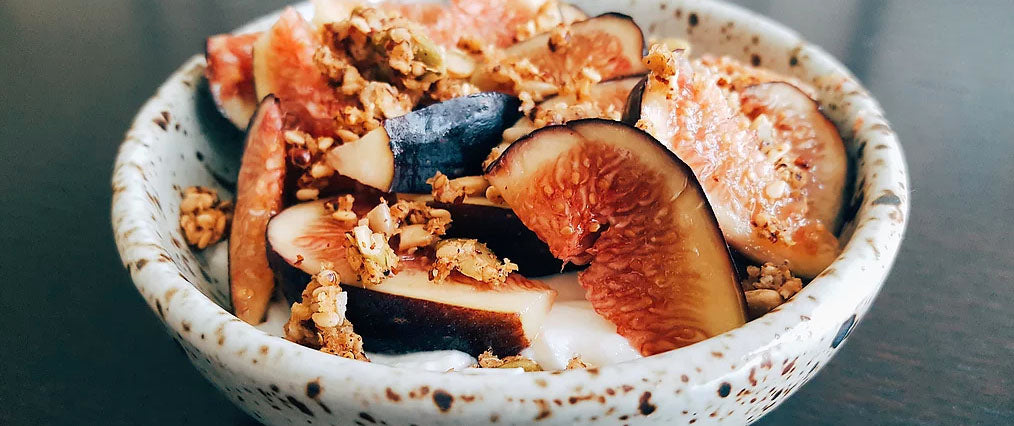 Gluten-Free Figs, Honey And Yogurt