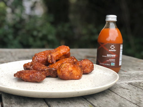 Carrot Bryner Hot Wings