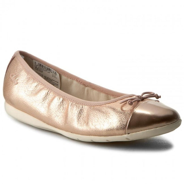 Clarks Dance Puff Jnr Rose Gold