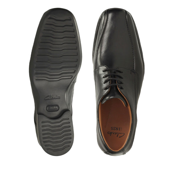 Clarks Francis Air Black Leather G