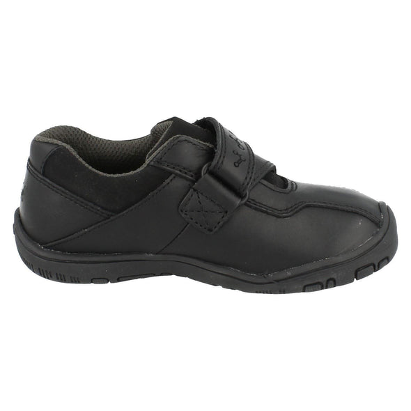 Clarks NANO LEARN INF Black Leather