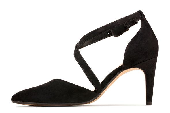 Clarks Laina85 Cross Black Sde
