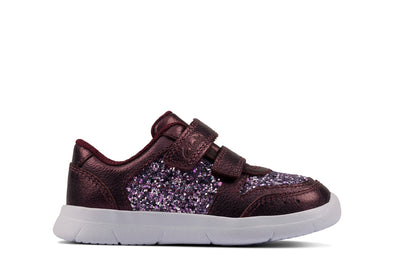 Clarks Ath Sonar T Berry Leather