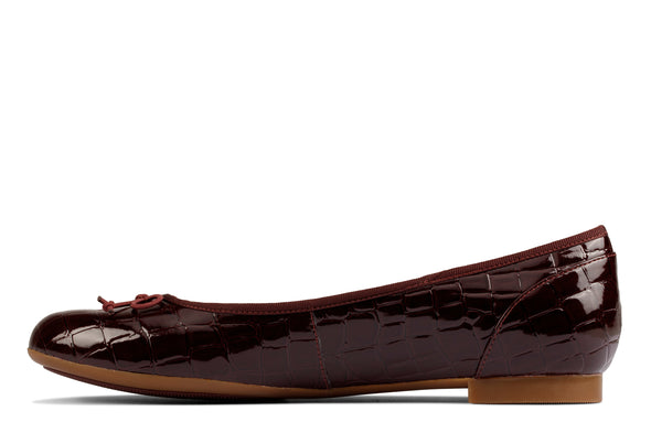 Clarks Couture Bloom Burgundy