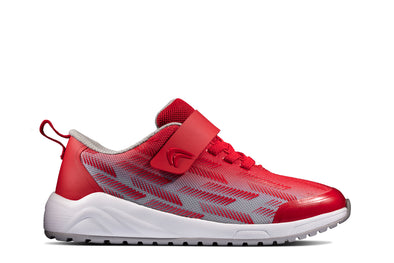 Clarks Aeon Pace K Red/Grey