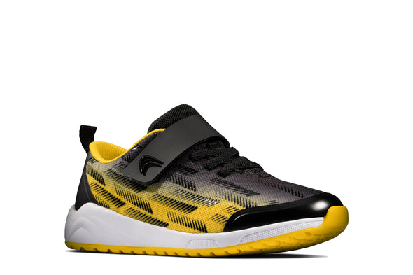Clarks Aeon Pace Y Black/Yellow