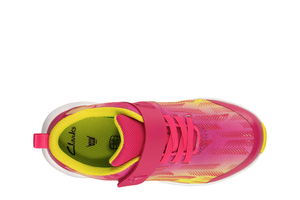 Clarks Aeon Pace K Pink/Lime