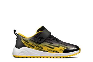 Clarks Aeon Pace T Black/Yellow