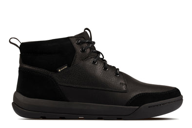 Clarks Ashcombe HiGTX Black WLined Le