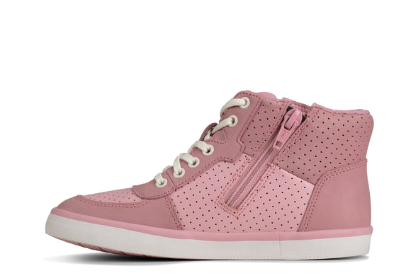 Clarks City Flake K Pink Leather