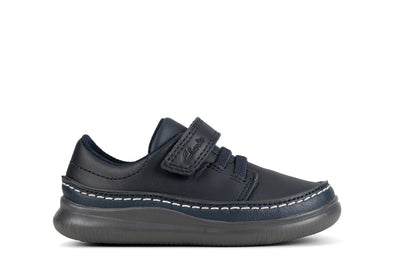 Clarks Crest Aero T Navy Leather