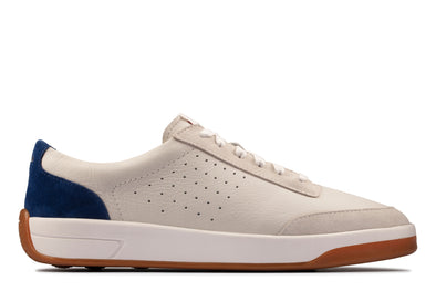 Clarks Hero Air Lace White/Blue