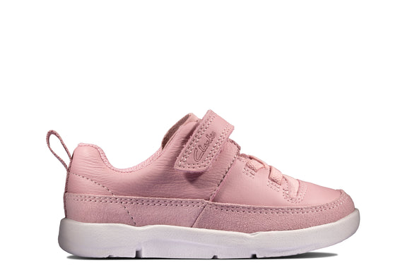 Clarks Tri Craft T Pink Leather