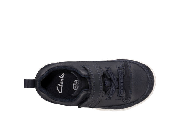 Clarks Tri Craft T Navy Leather