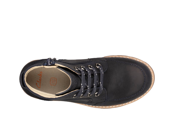 Clarks Heath Lace K Navy