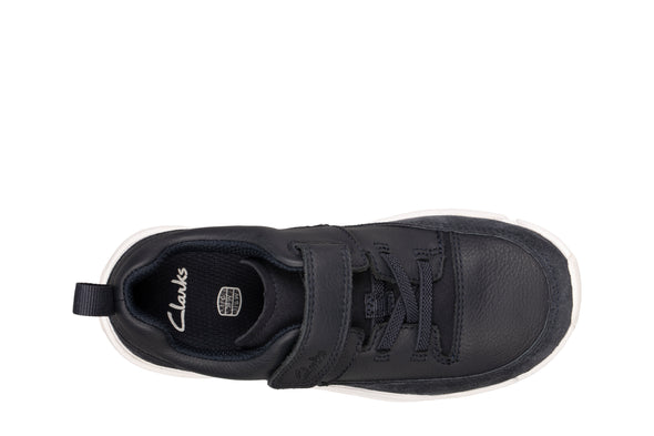 Clarks Tri Craft K Navy Leather