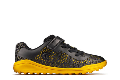 Clarks Award Swift K Black/Yellow