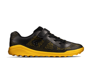 Clarks Award Swift Y Black/Yellow