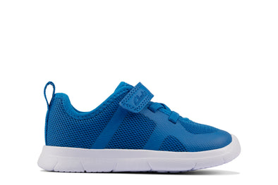 Clarks Ath Flux T Blue Synthetic