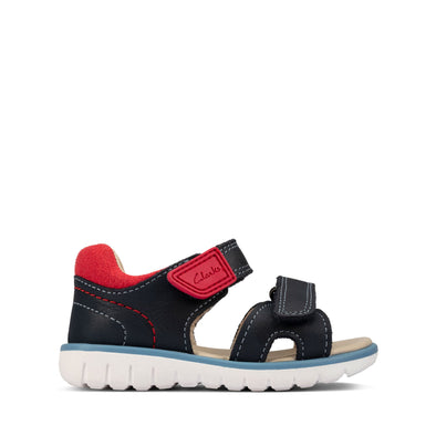 Clarks Roam Surf T Navy Leather