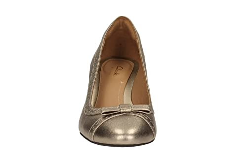 Clarks Denny Dream Metallic Leathe