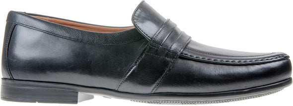 Clarks Claude Aston Black Leather H