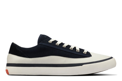 Clarks Aceley Lace Navy Canvas