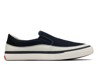 Clarks Aceley Step Navy Canvas