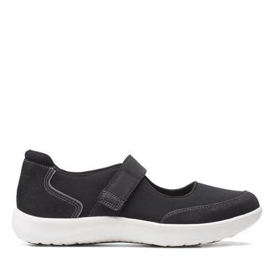 Clarks Adella West Black
