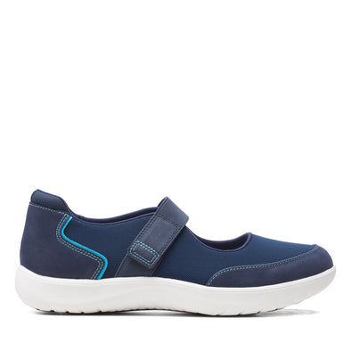 Clarks Adella West Navy