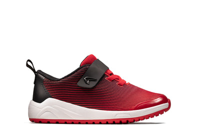 Clarks Aeon Pace T Red