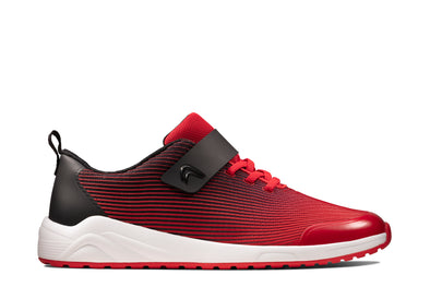 Clarks Aeon Pace Youth Red