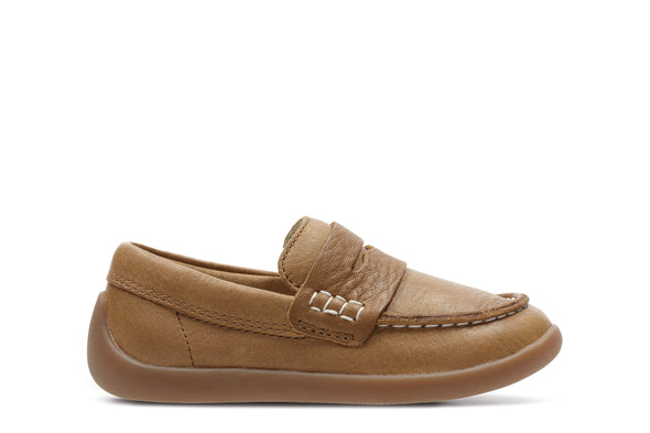 Clarks ArtistStride K Tan Leather
