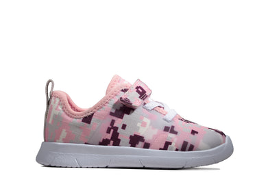 Clarks Ath Flux T Pink