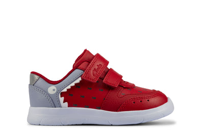 Clarks Ath Scale T Red Leather