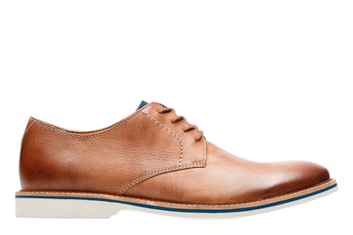 Clarks Atticus Lace Tan Leather