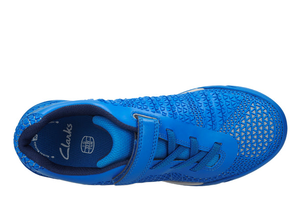 Clarks AwardBlaze Jnr Blue