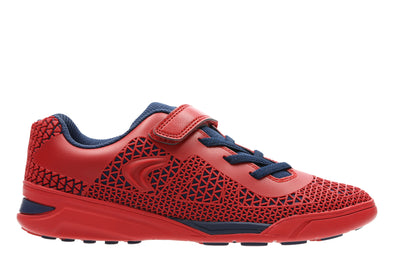 Clarks AwardBlaze Jnr Red