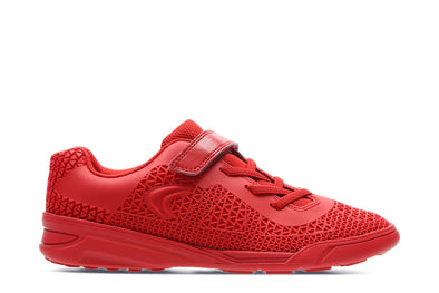 Clarks AwardBlaze Jnr Red Combi